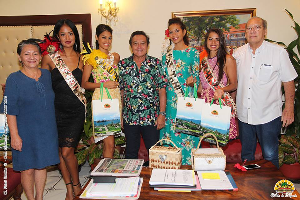 2a agenda miss tahiti visite officielle vaimalama chaves mairie papeete